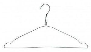 percha alambre