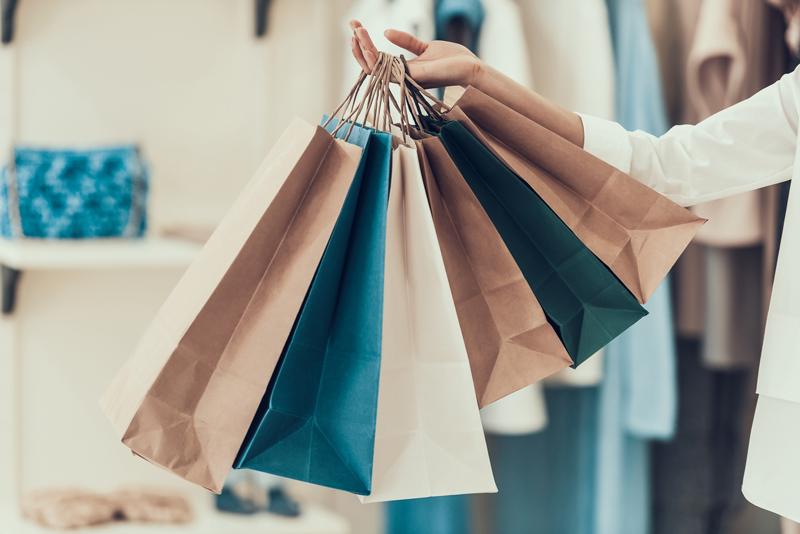 Qué tipo de bolsas de papel escoger para un negocio